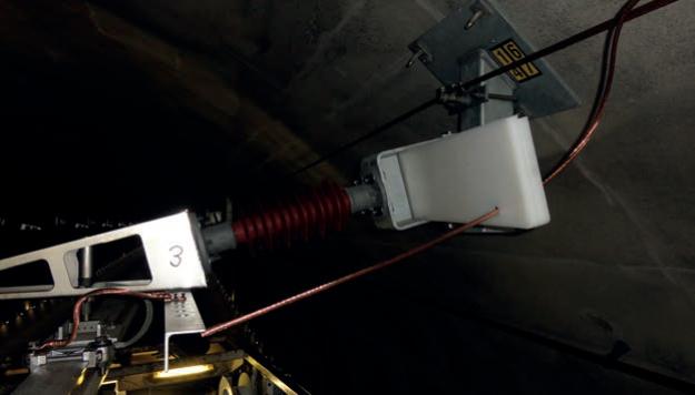 Kurzschlusslokalisierung mit Lichtwellenleiter