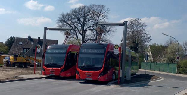 Individuell angepasste Ladeinfrastruktur für Elektro-Busse in Osnabrück