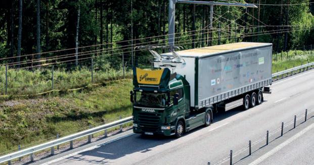 Entwicklung von Pantographen für schwere Nutzfahrzeuge