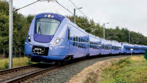 Regionalzüge Coradia Nordic für Skånetrafiken (Foto: Alstom/Carsten Brand)
