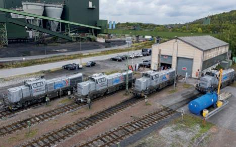 Portfolioausweitung und Lokomotiven-Taufe