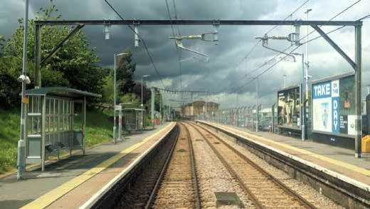 Fahrleitungserneuerung in Anglia, UK – Erfolg durch Kooperation