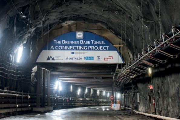 Brenner Basistunnel zur Hälfte ausgebrochen
