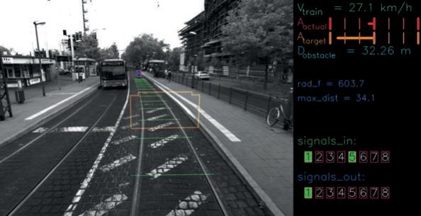 Sicherheitssystem für Stadtbahnfahrzeuge