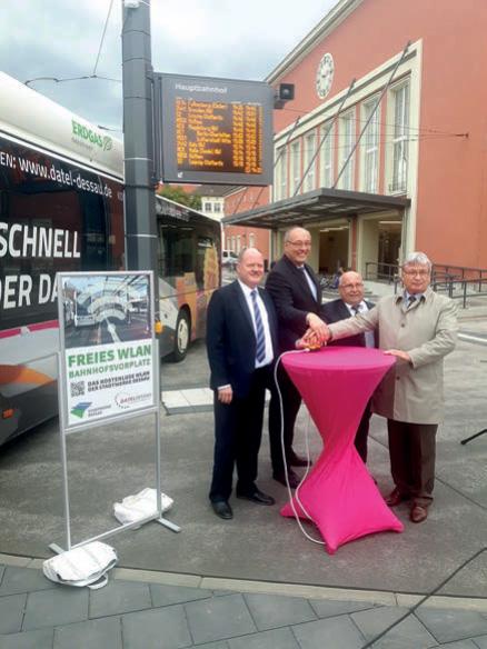 Erneuerung des dynamischen Fahrgastinformationssystems für die Straßenbahn in Dessau