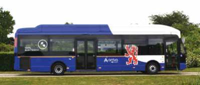 Elektrobusse in der Provinz Limburg