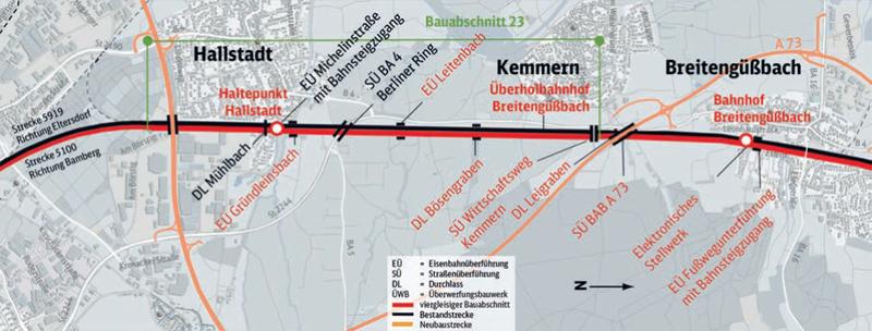 Ausbau Breitengüßbach – Hallstadt
