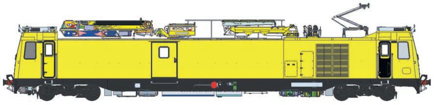 Instandhaltungsfahrzeuge für Oberleitungsanlagen