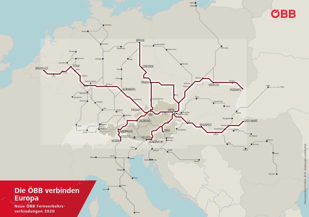 Fahrplan 2020: Millionen-Zuwachs an Fahrgästen in Österreich