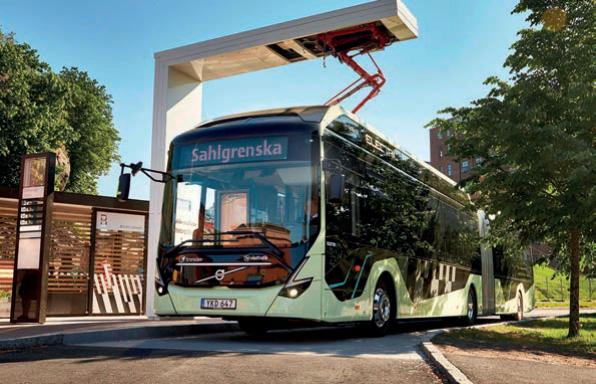 Elektrobus von Volvo