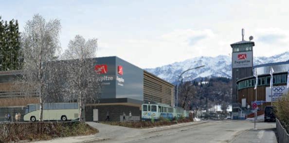 Neubau des Zugspitzbahnhofs