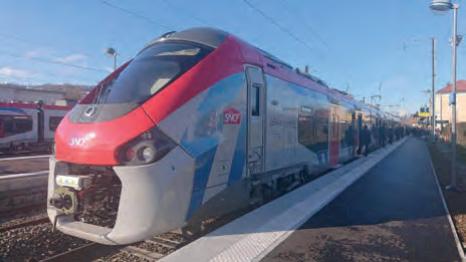 Coradia Polyvalent-Züge für die CEVA-Strecke