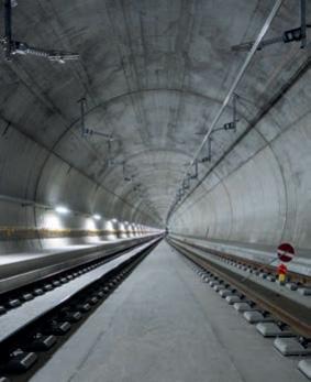 Technische Inbetriebnahme Ceneri-Basistunnel