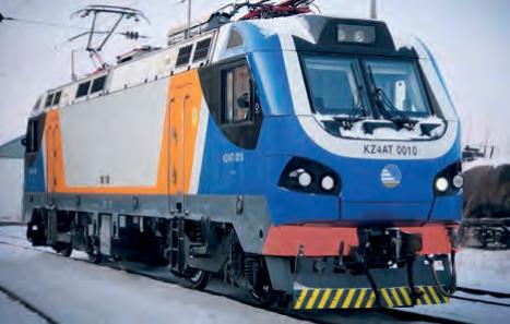 Servicevereinbarung für Bremssysteme von Elektrolokomotiven in Kasachstan