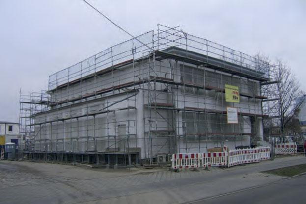 Rekonstruktion des Unterwerks Nord mit Leitwarte der Leipziger Verkehrsbetriebe