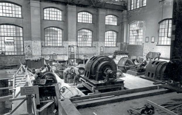 Geschichte des Bahnkraftwerkes Muldenstein – Teil 2