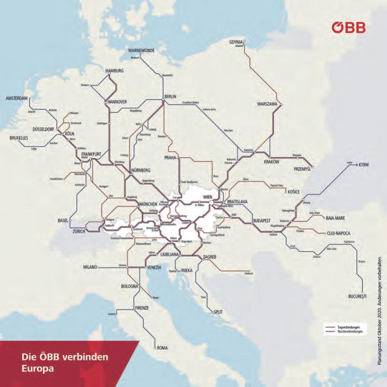 Kapazitätsausweitungen im Reiseverkehr in Österreich