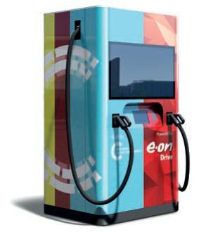 Ultra-Schnellladestation für Elektro-Fahrzeuge