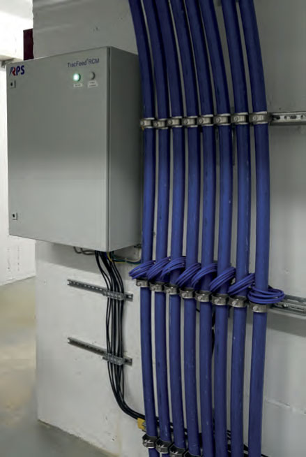 Überwachungssystem für Rückleitungsanschlussleiter für Gleichstrombahnen