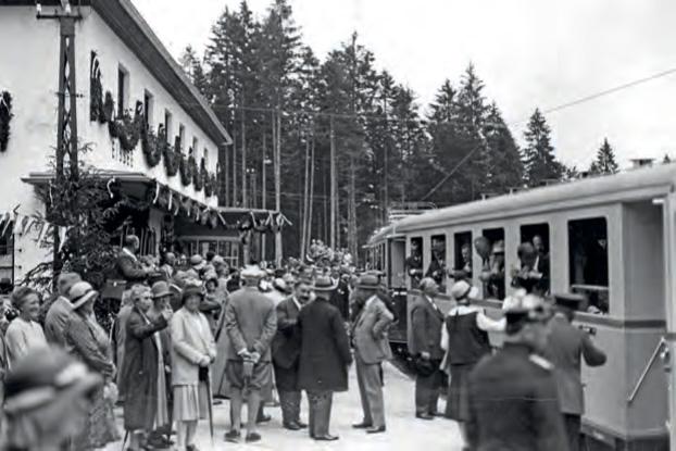 90 Jahre Zugspitzbahn
