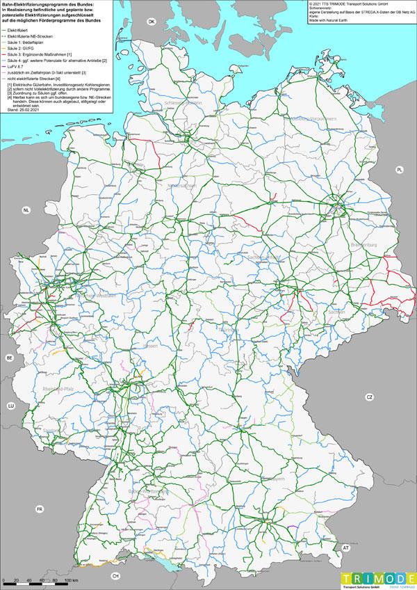 Eisenbahn-Elektrifizierungsprogramm des Bundes