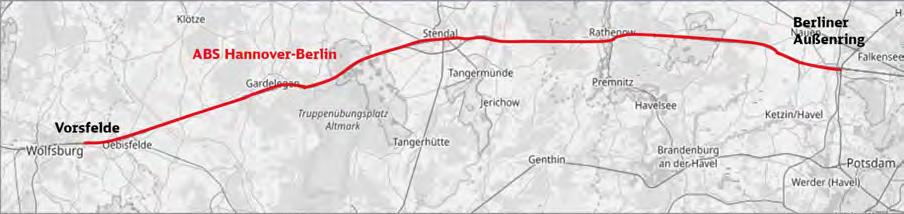 Untersuchung der elektromagnetischen Verträglichkeit für die Ausbaustrecke Hannover – Berlin