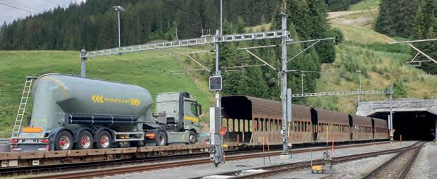 Pilotierung einer Kettenwerksüberwachung mit Auslösung für die Vereina-Linie